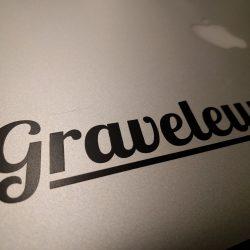 Black Graveleur Transfer Sticker